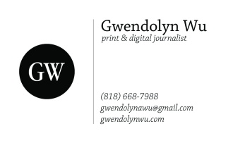 My personal business card. Logo designed in Adobe Photoshop CS6, layout in Adobe InDesign CC.